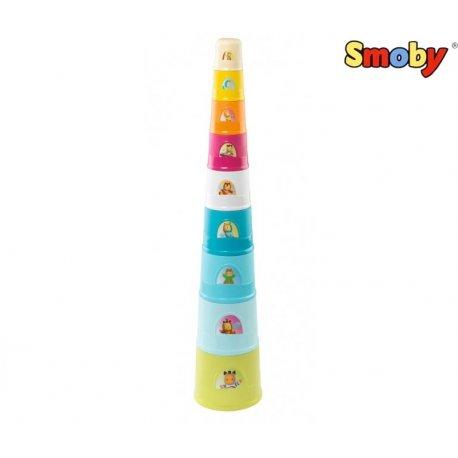 SMOBY Cotoons MAGICZNA Wieża PIRAMIDA 73 cm