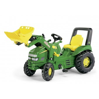 Traktor John Deere na pedały X-Trac z łyżką 3-10 Lat Rolly Toys