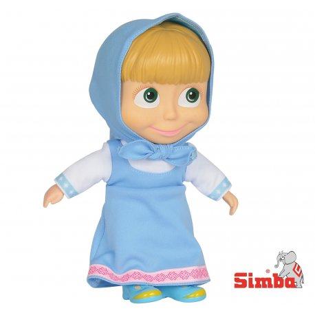 Simba Lalka Masza i Niedźwiedź figurka 23 cm Niebieska