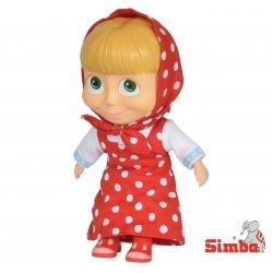 Simba Lalka Masza i Niedźwiedź figurka 23 cm Czerwona