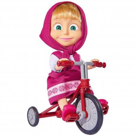 Simba Lalka Masza na Trójkołowym rowerku Masza i Niedźwiedź Reklama TV