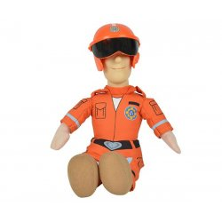 SIMBA Strażak SAM Maskotka figurka Ratownik Pluszak Siedzi 25cm