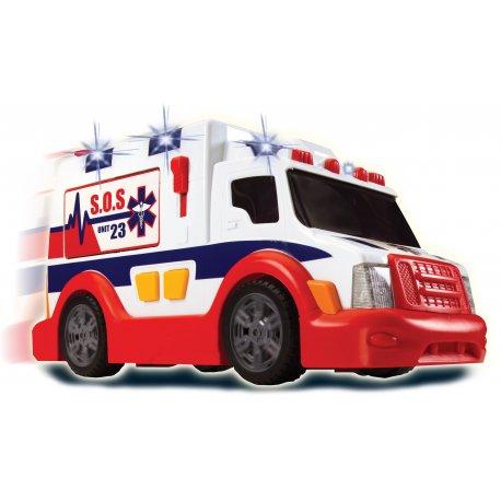 Dickie Karetka Ambulans samochód pogotowie ratunkoweSpeed Champs Światło Dźwięk 33 cm