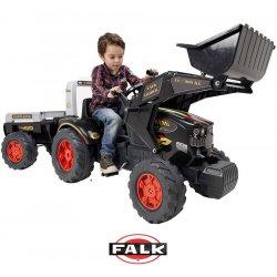 Falk Ogromny Traktor KING 900GM z przyczepą i Łyżką 3-7 lat