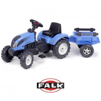 LANDINI 110 Falk Traktor z przyczepą