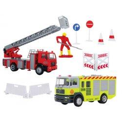 Dickie zestaw samochodów Straż Pożarna wóz z drabiną