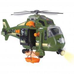 Dickie Helikopter wojskowy 41 cm Speed Champs Światło dźwięk