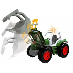 Dickie Traktor Farmera Koparka Światło Dźwięk