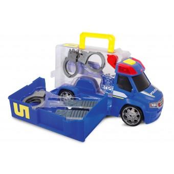 Dickie samochód Policyjny Van z zestawem akcesoriów w walizce 33 cm