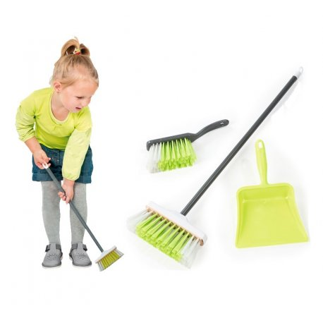 SMOBY Zestaw do sprzątania Zmiotka szufelka