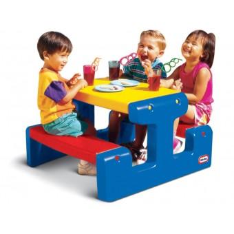 Duży Stolik Piknikowy dla Dzieci Little Tikes