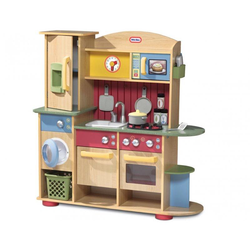 Drewniana Kuchnia zestaw kuchenny pralka Little Tikes -> Kuchnia Szefa Kuchni Little Tikes Opinie