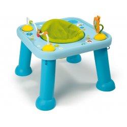 Smoby - Cotoons Edukacyjny Stół - Stolik Obrotowy Niebieski 2w1