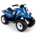Smoby Quad na akumulator niebieski RALLY 6V
