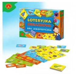 Alexander Gra Logopedyczna Loteryjka Obrazkowa