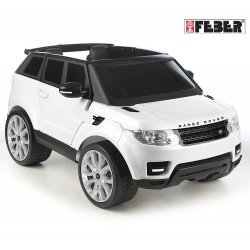 FEBER Samochód Range Rover Sport 12V Biały