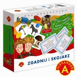 Alexander Zgadnij i skojarz - Gra edukacyjna