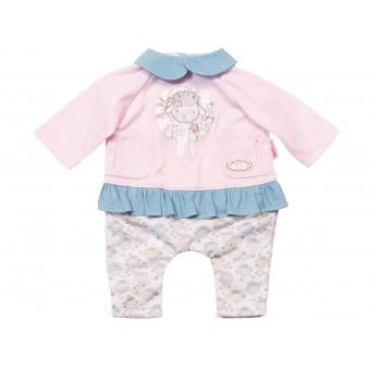 Baby Annabell ubranko z niebieskim kołnierzykiem