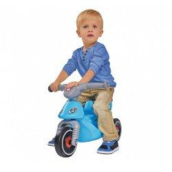 BIG Jeździk Bobby Scooter Motor skuter Niebieski