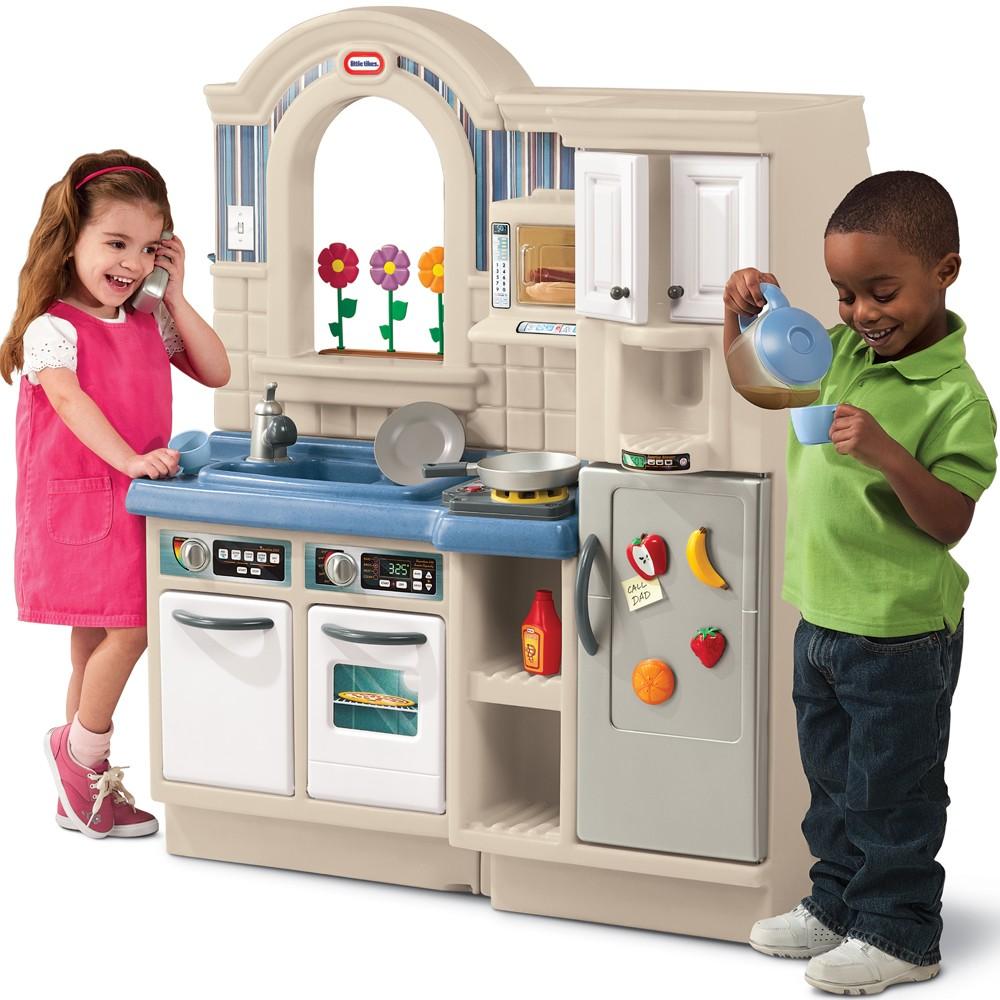 Kuchnia szefa dla dzieci z grillem Little tikes -> Kuchnia Little Tikes Nauka Gotowania