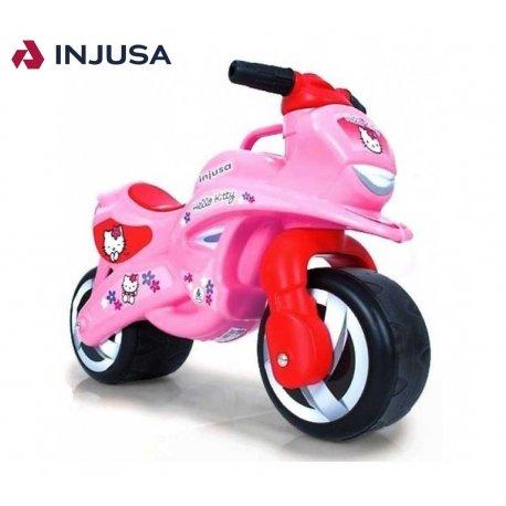 Injusa Motor Pchacz Jeździk Szerokie Koła Hello Kitty