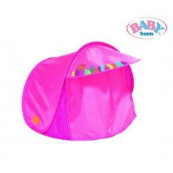 Baby Born Zestaw biwakowy Namiot Ognisko Śpiworek