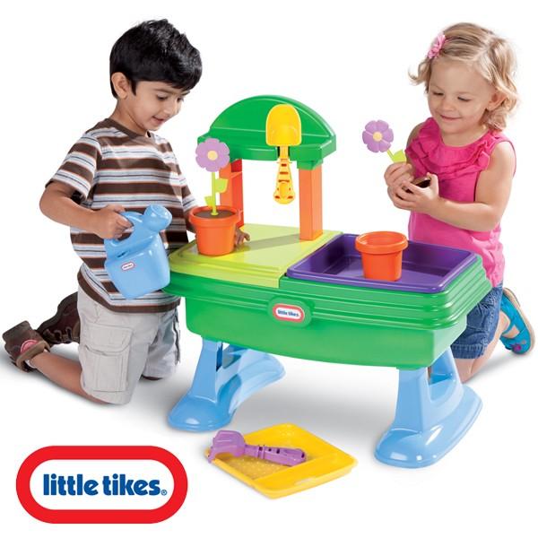 LITTLE TIKES Aktywizujący STOLIK OGRODNIKA Zestaw  Brykacze pl  zabawki dla  -> Kuchnia Dla Dzieci Little Tikes