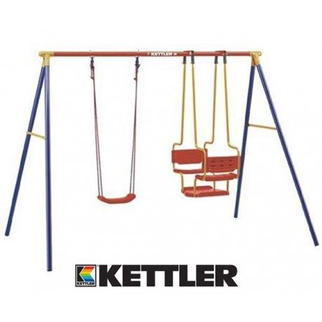 KETTLER Huśtawka Plac Zabaw Metalowy Gondola Deska