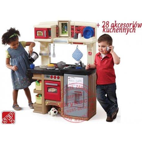 STEP 2 Kuchnia Elektroniczna z okienkiem 28 akc. Tablica