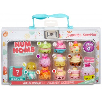 Num Noms Lunch Box zestaw DELUXE Seria 4 REKLAMA TV Sweets Sampler