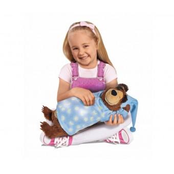 Simba Masza i Niedźwiedź Świecący Chrapiący Niedźwiedź Misza 40 cm