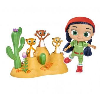 Simba Wissper Świat Pustyni Ubranko dla lalki 23cm + 3 Figurki Surykatki REKLAMA TV
