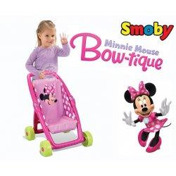 Smoby spacerówka wózek dla lalek Minnie Mouse