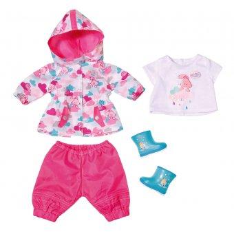 Baby Born Zestaw ubranek na deszczową pogodę dla lalki 43 cm