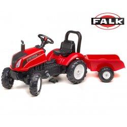 Traktor na pedały Falk Land Master z przyczepą