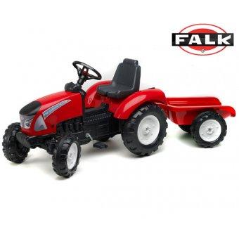 Traktor na pedały Falk Garden Master z przyczepą