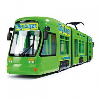 Tramwaj City Liner zielony pojazd Dickie 46 cm