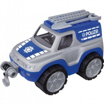 BIG Samochód Policyjny Power Worker Ciężarówka Wyciągarka