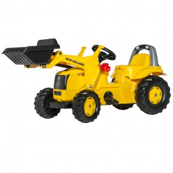New Holland Traktor Na Pedały Kid 2-5 Lat Łyżka ROLLY TOYS