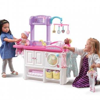 Step2 Opiekunka przewijak Pralka Domek dla lalek Kącik Opiekunki