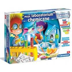 Clementoni Moje Laboratorim Chemiczne eksperymenty dla dzieci