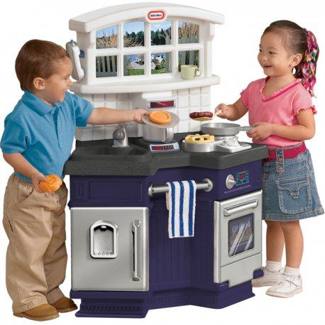 Zabawki Na Upalne Dni Little Tikes Kuchnia Wielofunkcyjna Dźwięk Ekspres