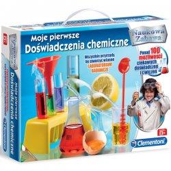 Moje pierwsze Doświadczenia chemiczne Zestaw naukowy Clementoni