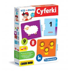 Cyferki - Zabawna gra edukacyjna Clementoni