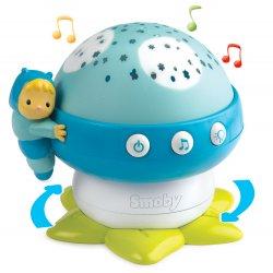 Lampka nocna grzybek z projektorem Smoby Cotoons kolor niebieski