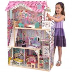 KidKraft drewniany domek dla lalek Annabell 117 cm z mebelkami