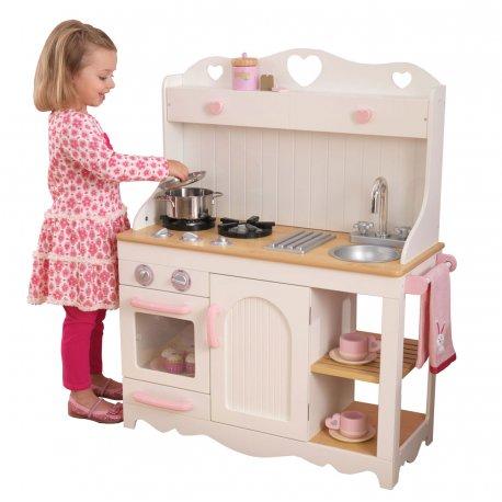 Zabawki Na Prezentduza Drewniana Kuchnia Dla Dzieci Kidkraft