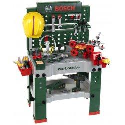 Klein Mega warsztat Bosch z wkrętarką 150 elementów Światło Dźwięk