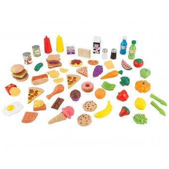KidKraft Zestaw żywności zawierający 65 produktów