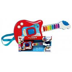 Gitara interaktywna Uczę się Grać efekty dźwiękowe Clementoni